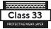 klass är 33 - Skyddande slitskikt