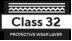 klass är 32 - Skyddande slitskikt